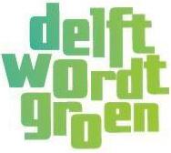 Logo Delft wordt groen